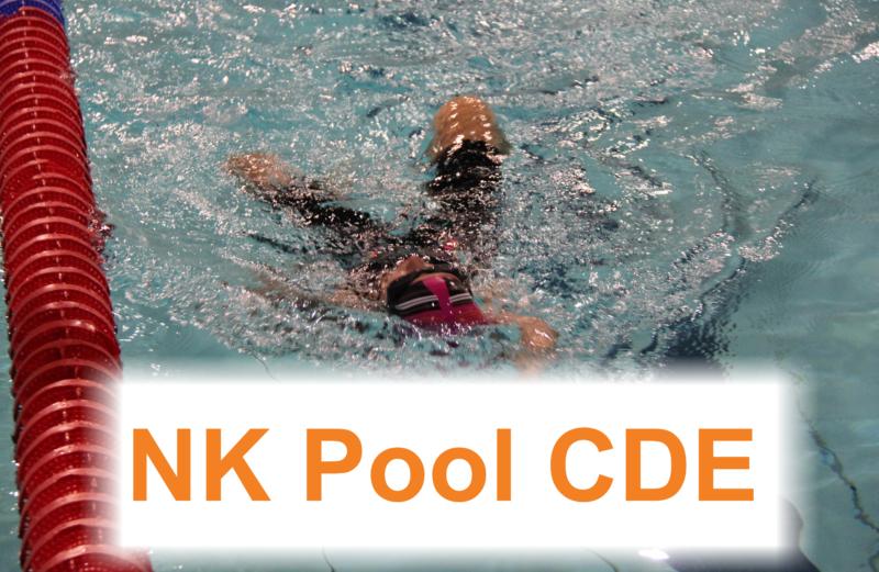 NK Pool C-D-E Startlijsten